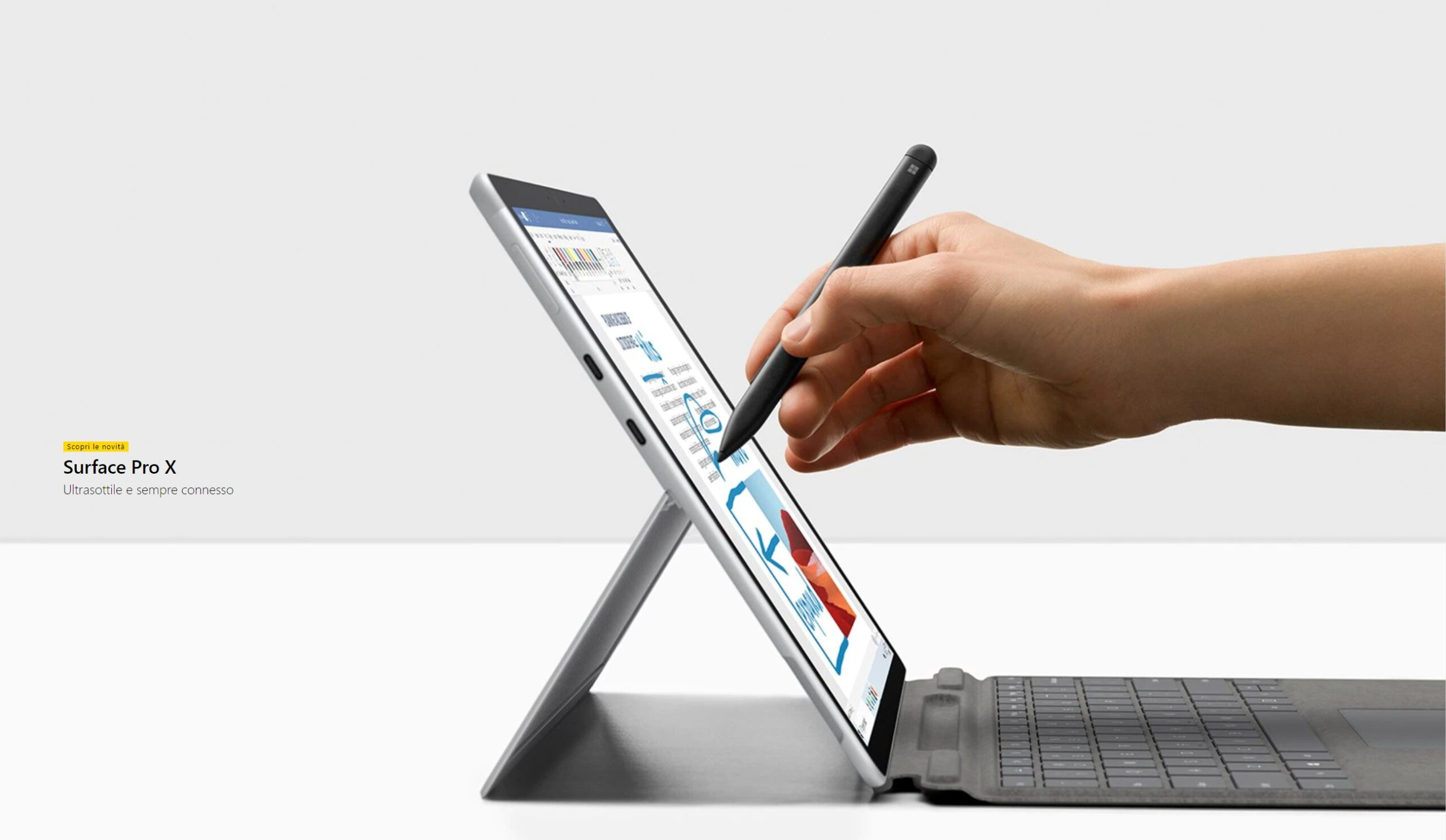 Surface Pro X club 33 informatica srl