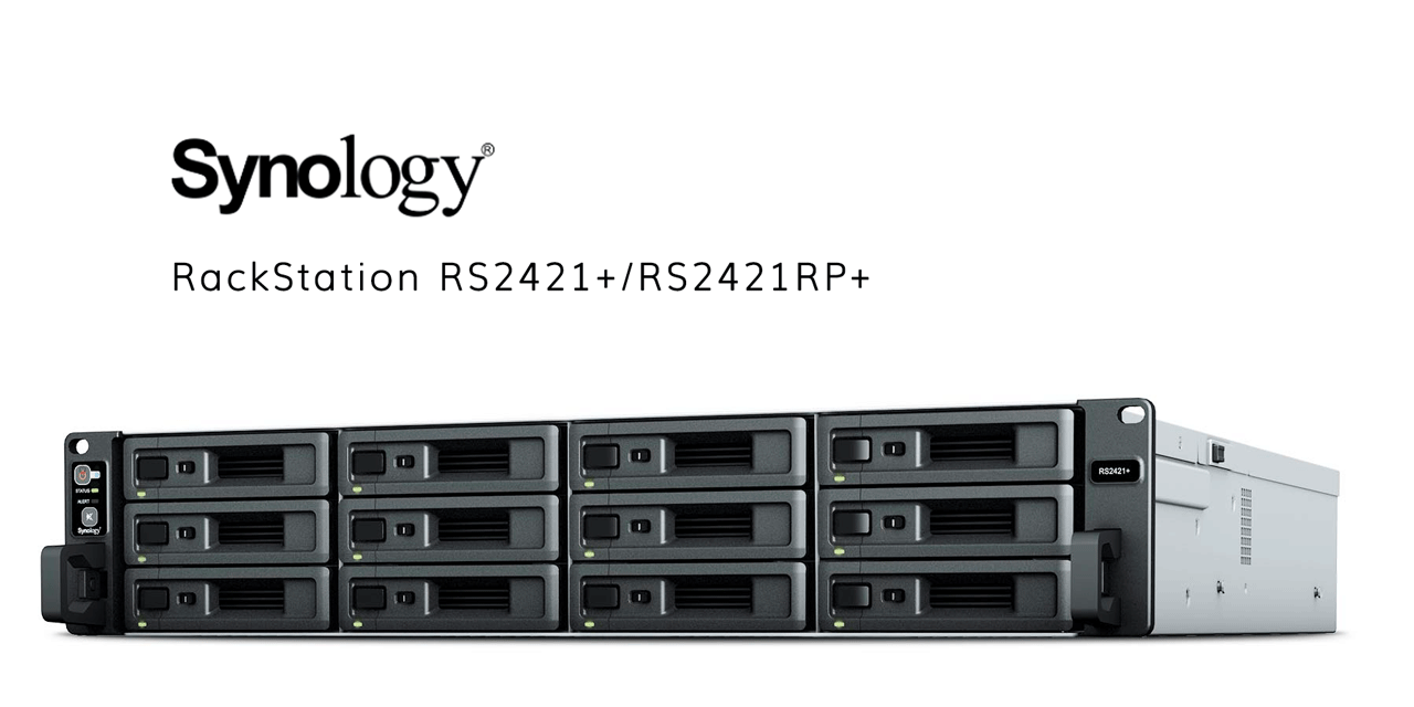 Synology RackStation RS2421+/RS2421RP+